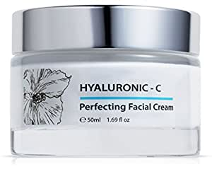 hyaluronique c creme beaut pour visage acide hyaluronique vitamine c 50 ml. Black Bedroom Furniture Sets. Home Design Ideas