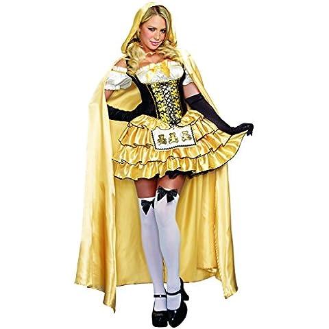Dreamgirl 9895riccioli d' oro Costume (Large) - Corpetto Trim
