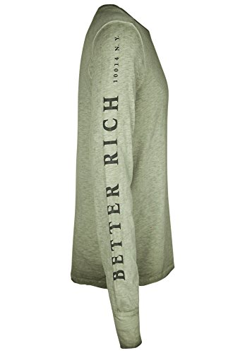 BETTER RICH Herren Longsleeve POCKET B Pine