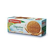 بسكويت دايجستف خالي من السكر من بريتانيا، 350 غرام - عبوة من قطعة واحدة