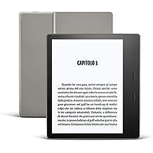 Nuovo Kindle Oasis - Ora con tonalità della luce regolabile - Resistente all'acqua, 8 GB, Wi-Fi, Grafite
