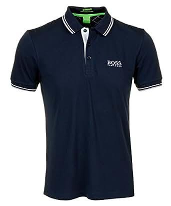 a75c668ad BOSS Hugo Green Paddy Pro Polo Shirt Navy Blue (XL): Amazon.co.uk ...
