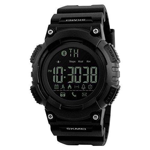 Herren Outdoor-sportarten-digitaluhr,Lingxiang Intelligente Verbindung Bergsteigen Alarm Kalender Watch-C