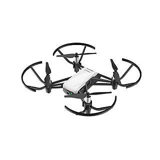 Ryze DJI Tello - Mini-Drohne ideal für kurze Videos mit EZ-Shots, VR-Brillen und Gamecontrollern kompatibilität, 720p HD-Übertragung und 100 Meter Reichweite