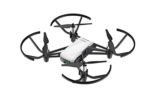 Ryze DJI Tello - Mini-Drohne ideal für kurze Videos mit EZ-Shots, VR-Brillen und Gamecontrollern kompatibilität, 720p HD-Übertragung und 100 Meter Reichweite (Iphone-spielzeug)