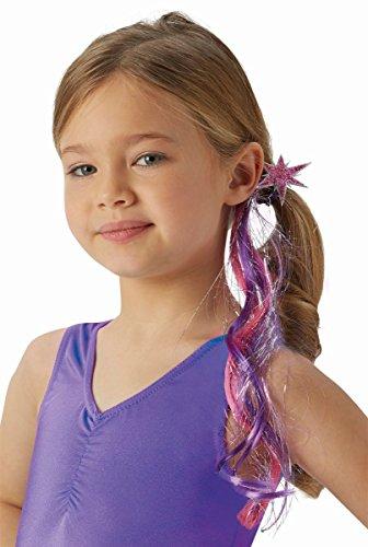 Robies My little Pony Twilight Sparkle Haargummi mit Haarsträhne Karneval
