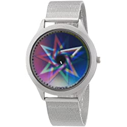 Rainbow e-motion of color Women's Quartz Watch Elegance Bodyheat CIELPS-MBS-pe with Metal Strap