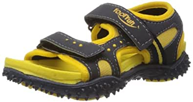 Footfun (from Liberty) Boys Habana Yellow Floaters and Sandals - 3Y UK