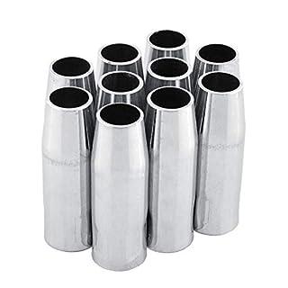 10 PCS MB-15AK MIG/MAG Welding Torch Gas Nozzle Cup binzel abicor type
