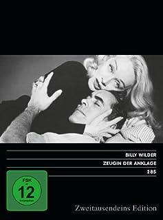Zeugin der Anklage. Zweitausendeins Edition Film 285