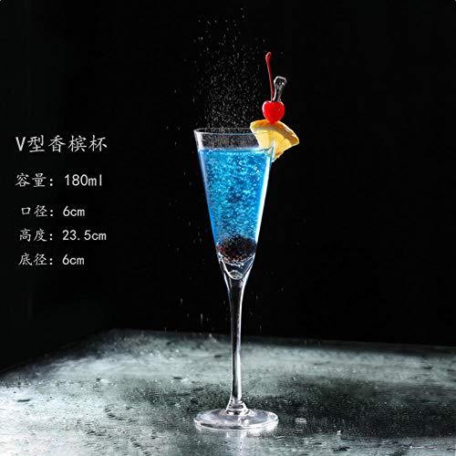 Glas gerade Cocktail Glas Margarita Schale Dreieck Champagner Glas gute Qualität schöne stabile Gläser fantastische Cocktails Wiederverwendbare geeignet für Familientreffen Feier Geburtstag Weihnachte