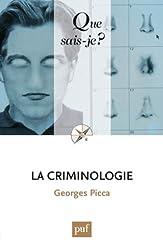 Que sais-je ? : La criminologie