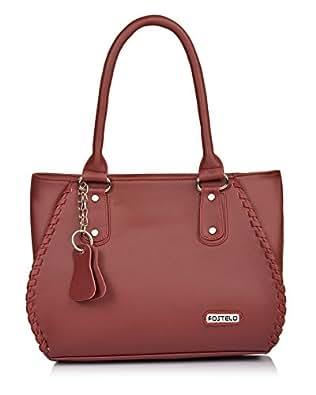 Fostelo Women's Cannes Handbag Maroon