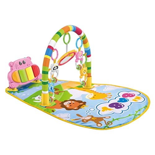 Multifunction Baby Play Mat Toddler Gym Toy Floor Crawl Blanket Carpet With Music Piano Pedal Fitness Frame Baby Toy