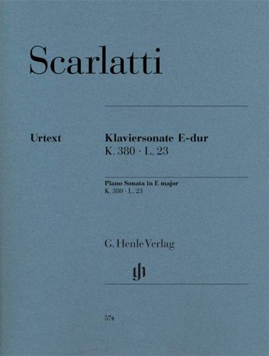 Preisvergleich Produktbild Klaviersonate E-dur K. 380 L. 23