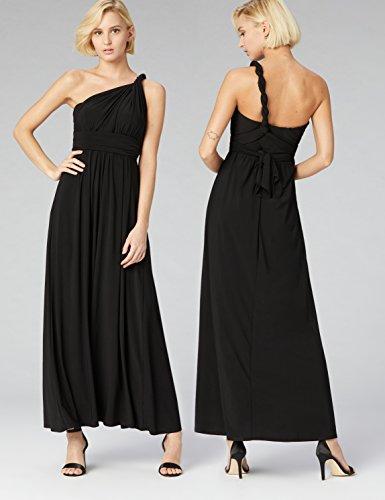 TRUTH & FABLE Vestito Lungo Donna Multiway Nero (Black)