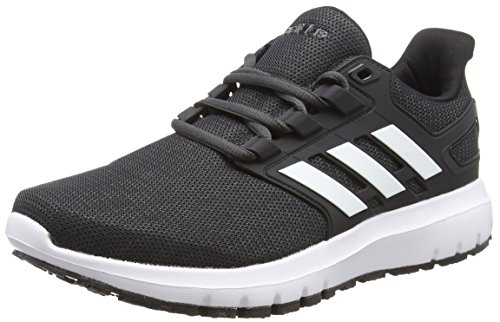 adidas Herren Energy Cloud 2 Laufschuhe, Schwarz (Core Black/Ftwr White/Carbon S18), 47 1/3 EU (12 UK)