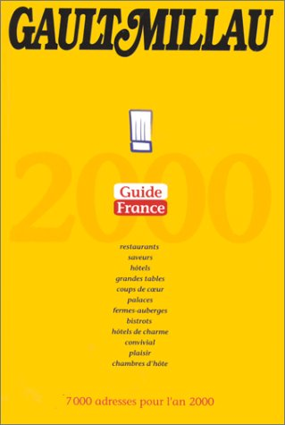 Guide GaultMillau France et Europe 2000 Pack 2 volumes
