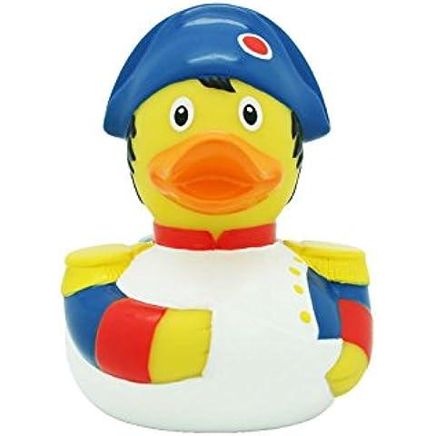 Lilalu 8 x 8 cm / 50 g Collector y Baby Napoleón Goma Juguete de baño Pato