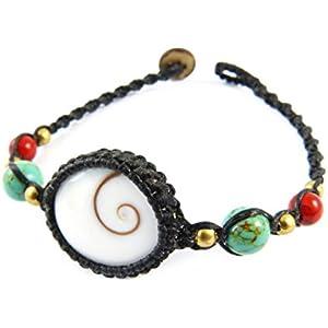 Shiva Auge Armband Muschel Thail