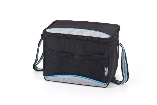 polar-gear-personal-cooler-5-litre-in-black-and-turquoise-by-polar-gear