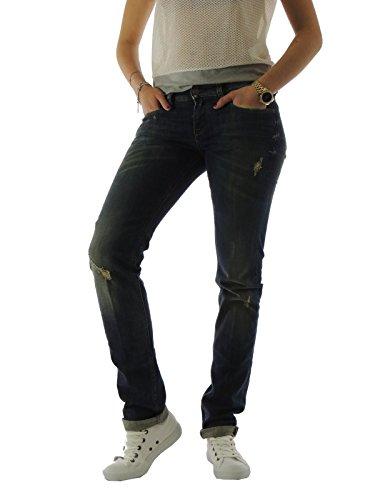 Mauro Grifoni jeans da donna cinque tasche slim sconto 35% denim XY490272XJS35 30