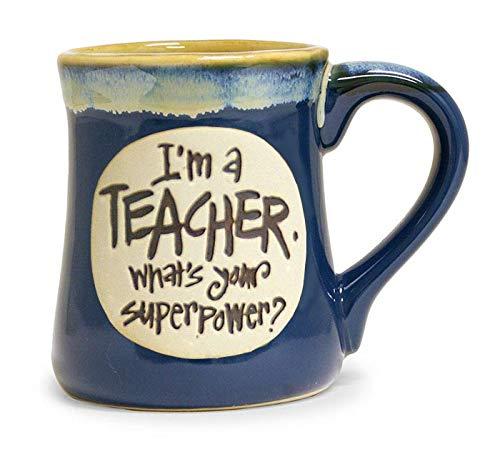 burton+BURTON I'm a Teacher Superpower Tasse, ca. 510 ml, blau