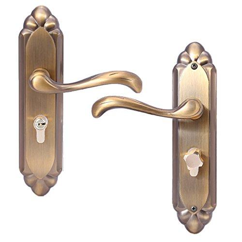 LOVIVER Türschloss Privatsphäre Eintrag Hohe Sicherheit Safe Griffe Mit Schlüssel (Eintrag Türschloss-set)