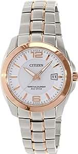 Citizen Eco-Drive Analog White Dial Men's Watch - BL1248-57A