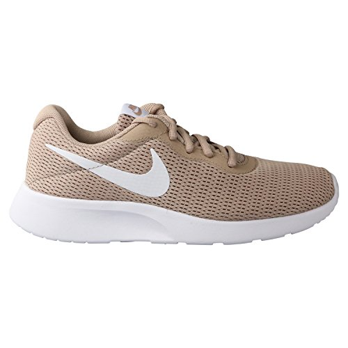 Nike Damen Tanjun Sneaker - Beige (Sand/White), 37.5 EU