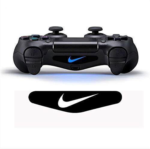 PlayStation 4 PS4 Lightbar Sticker Aufkleber - Controller Decal Logo - Wunschtext Nike