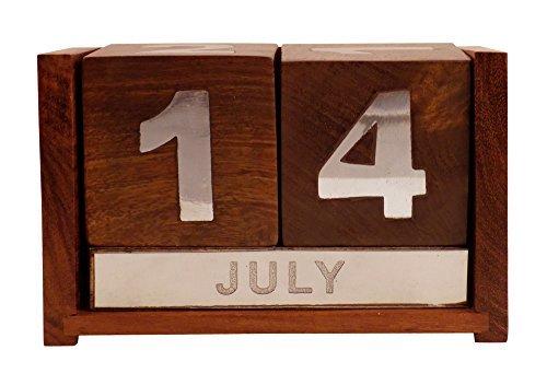 crafts-man-never-ending-data-calendario-in-legno-per-ufficio-scrivania-decorazione