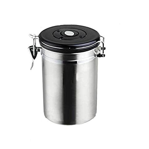 Laixing Premium Vacuum Sealed Canister,Acier inoxydable Storage Container for Coffee