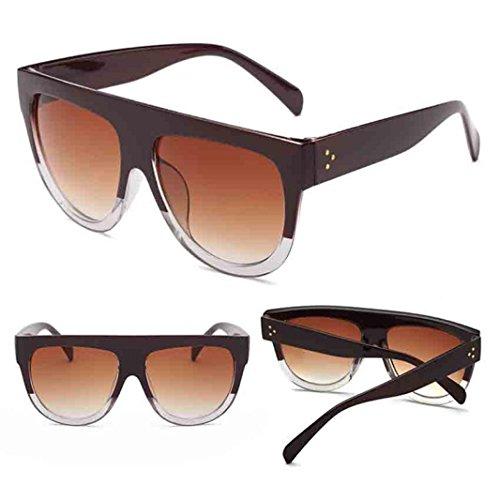 Gusspower Gafas de Sol Polarizadas,UV400 Gafas de Sol Polarizadas Metal de Moda para Conducción Pesca Esquiar Golf Aire Libre para Mujer y Hombre Unisex (J)