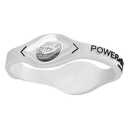Power Balance Silikon-armband, white / black, XS, GWSA09WT00BKYP