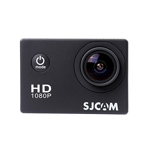 SJCAM Multi-function SJ4000 HD 1080P Waterproof Digital Video Recorder DVR Camcorder, 12 Mega pixel, 170° HD wide-angle, Multi Colors, with Waterproof Case Multiple Mounts (Black 2)