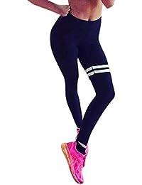 pantalón chandal mujer Sannysis mujer Leggings de Yoga Pantalones (M)