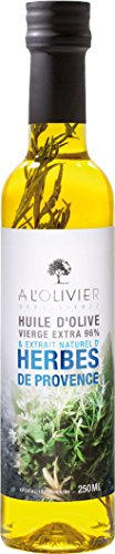 A l'Olivier 'Daily' - Olivenöl mit Kräutern der Provence (Herbes de Provence) in der Glasflasche 250 ml