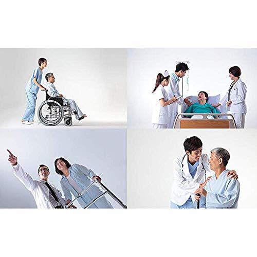 41JDcSWH5wL - YXP Elevación hidráulica Personal del Cuerpo del Paciente, con Eslinga de Malla de Cuerpo Completo Medio, para Personas discapacitadas de Edad Avanzada