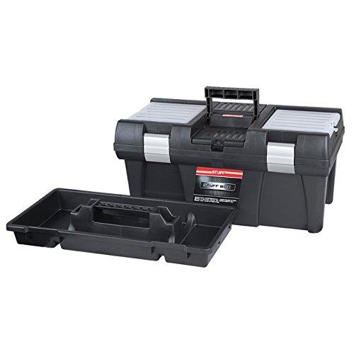 Kunststoff Werkzeugkoffer STUFF Semi Profi Alu 20″, 52,5×25,5cm Kasten Werzeugkiste Sortimentskasten Werkzeugkasten Anglerkoffer - 8