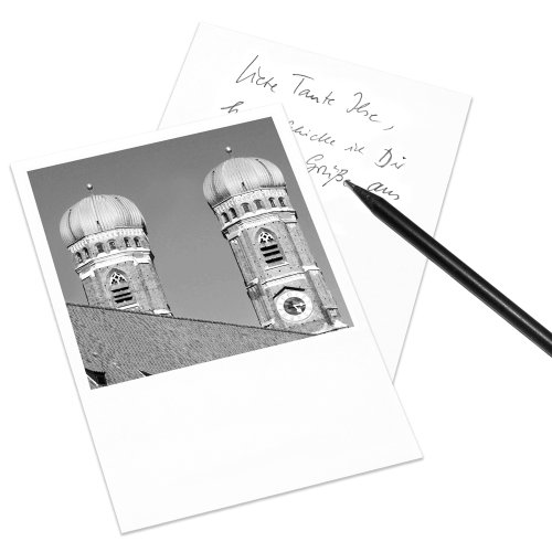 set-of-10-postcards-munich-polaroid-look-din-a6-upright-format-image-allianz-arena