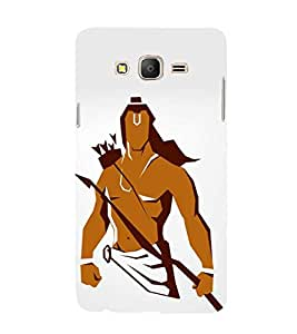 FUSON Prabhu Ram Graphic Painting 3D Hard Polycarbonate Designer Back Case Cover for Samsung Galaxy On5 (2015) :: Samsung Galaxy On 5 G500Fy (2015)