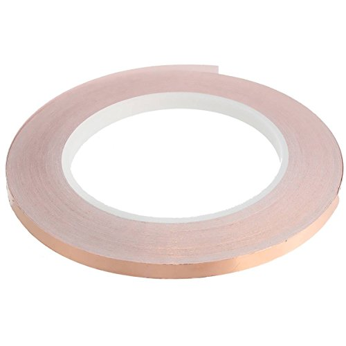 KING DO WAY Lamina rame Nastro Adesivo copper Foil Tape per EMI SCHERMATURA 6mm*30M