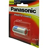 #8: Panasonic Battery Photo Lithium CR123AW/1BE 3V Battery (Multicolor)