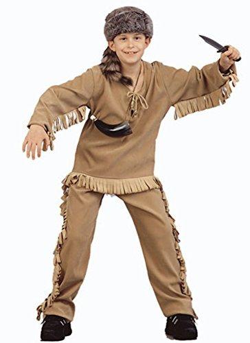 Daniel Boone Kostüm - Child's Daniel Boone Halloween Costume (Size: