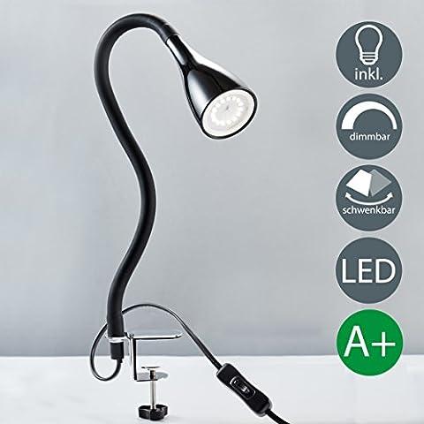 Lampe Flexible - b.k. lumière lampe Pince à LED avec