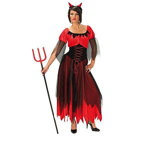 Rubies 1 3422 42 - Kostüm Teufelin Größe 42