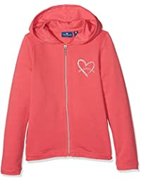Tom Tailor Sweet Hoodie Jacket, Sweat-Shirt àCapuche Fille