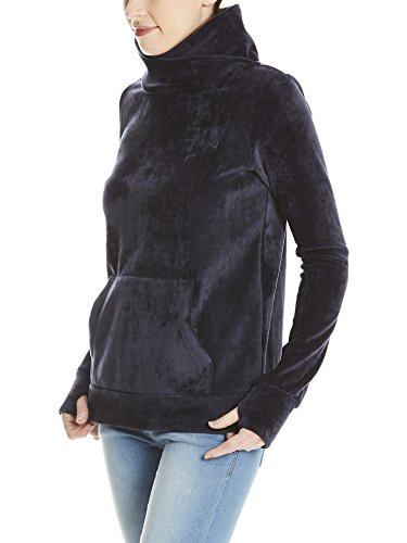 Bench Damen Sweatshirt Her. Overhead Fleece Funnel Blau (Essentially Navy Bl11341)