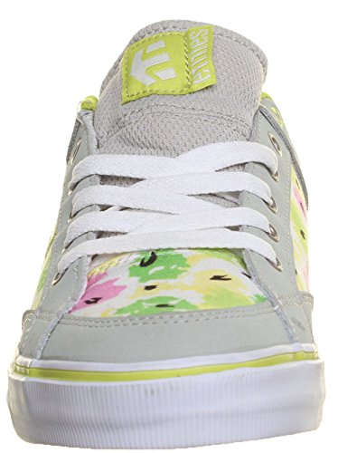 Etnies Izzy - Sneaker da donna, in pelle scamosciata, colore: Grigio Grigio (grigio)